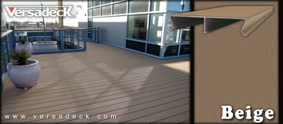Standard Versadeck Aluminum Decking Colors