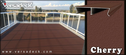 Cherry Brown Aluminum Decking Colors