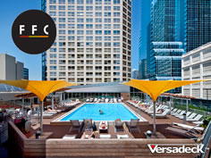 Commercial Pool Deck Decking Health Club