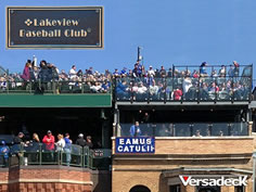 LVBC Rooftop Deck and Bleachers at Wrigley Field