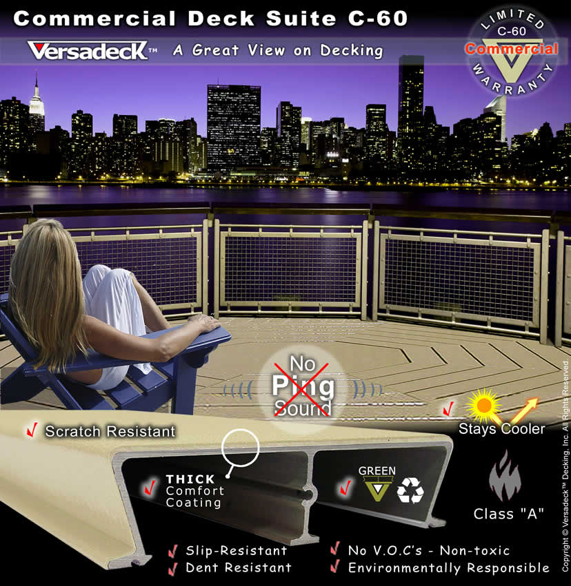 Aluminum Modular Commercial Decking by Versadeck Decking