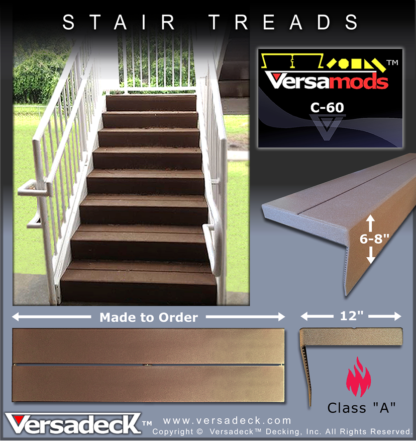 Modular Aluminum Stairs by Versadeck Decking