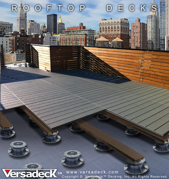 Rooftop Deck System by Versadeck Decking